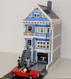 """Victorian Townhouse (San Francisco """"Painted Ladies"""" Style, 21w)"""