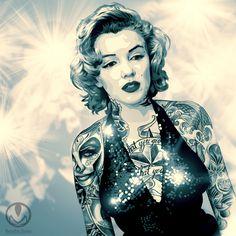 marilyn monroe #tattoo