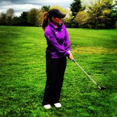 Brand Ambassador Mallory Blackwelder in Cross Golf amethyst lilac | #golf4her
