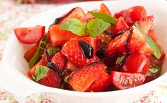 Tartare tomate-fraise au balsamique - WeCook