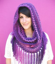 Free Crochet Pattern: Mountains Cowl | Gleeful Things ༺✿ƬⱤღ  http://www.pinterest.com/teretegui/✿༻