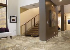 Tile Flooring – A Versatile, Durable and Beautiful Option -- wouldn't you love this #tile in your home?