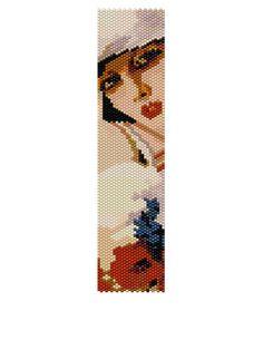 Peyote Bracelet Pattern - In the Middle of Summer  (Buy 2 Patterns get a 3rd. Pattern FREE) by KFSDesigns, $6.50