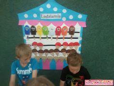 Boberkowy World : Lato w przedszkolu: Lodowe szaleństwo - propozycje zabaw i pomoce dydaktyczne