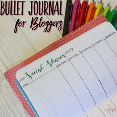 Bullet Journal for B