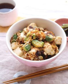食欲全開&栄養満点!アボカドと豆腐の味噌どんぶり by 横田 尋香/ひなちゅん