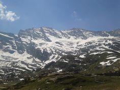 Clear sky in western Alps (rifugio Jervis, near Ceresole Reale, Western Alps)