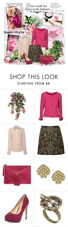 Everybody loves Fucsia (19th Sept 2013) by pilar-elena on Polyvore featuring мода, Dorothy Perkins, Kate Spade, WALL, ANNIE, dog, Fucsia and 12000