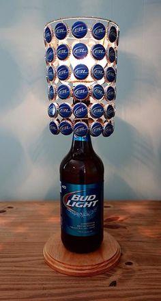 25+ Estupendas Ideas para Decorar con Lámparas Botella