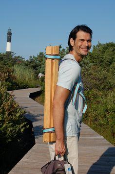 DIY how to make a portable beach table