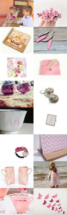 Pink by Sanja on Etsy--Pinned with TreasuryPin.com