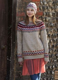 Knitting Patterns, Crochet Patterns, Fair Isle Knitting, Pullover, Knit Crochet, Tunic Tops, Sewing, Clothes, Jumpers