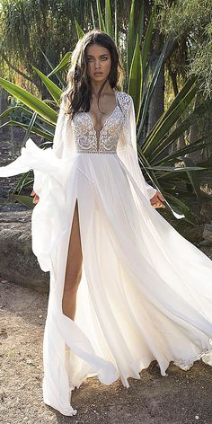 Fantastic Lace Beach Wedding Dresses ★ See more: https://weddingdressesguide.com/lace-beach-wedding-dresses/ #bridalgown #weddingdress