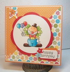 It's a Stamp Thing: Sweet Sunday....Birthday Clown