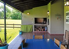 Seratti y Saviotti Arquitectos - Casa estilo clásico campo argentino - PortaldeArquitectos.com