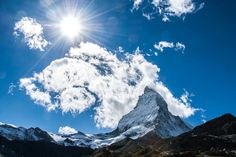 The Matterhorn, in all of its impossible beauty. by toseeg, via Flickr