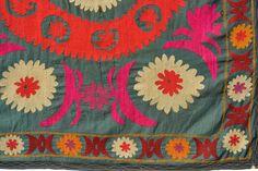 Uzbek Suzani Textile | One Kings Lane