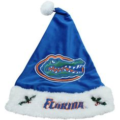 Florida Gators Santa Hat! Check out all of the Gator Holiday decor here: http://pin.fanatics.com/COLLEGE_Florida_Gators_Accessories_Holiday_Items/source/pin-gator-holiday-decor-sclmp