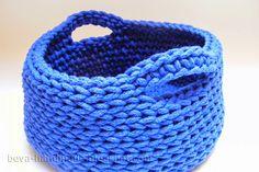 beva handmade: Jak zrobić koszyk ze sznurka?