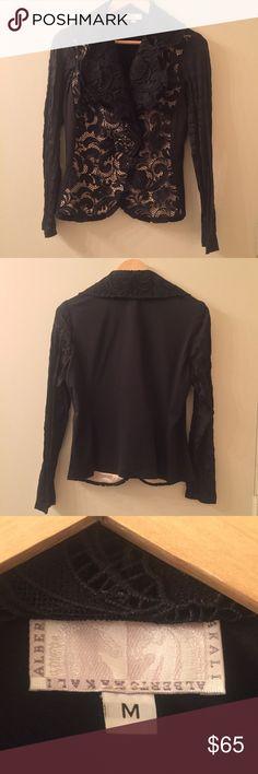 Alberto Makali Dressy Blazer Beautiful 100% dacron formal blazer. Brand new without tags. Alberto Makali Jackets & Coats Blazers