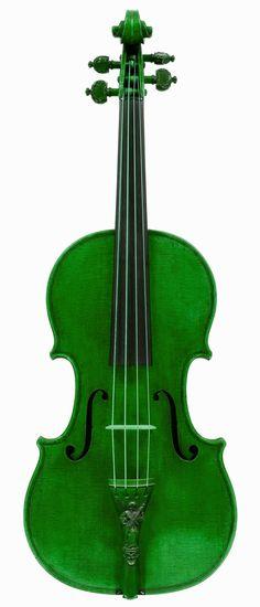 Green fiddle