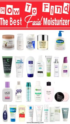 Beauty Tips - How To Find The Best Facial Moisturizer For Your Face Skin?, Facial Moisturizer for oilyskin, Facial Moisturizer for dry skin, Facial Moisturizer for black women, #facial #moisturizer #beautytips Best Moisturiser For Face, Best Natural Face Moisturizer, Moisturizer For Oily Skin, Anti Aging Moisturizer, Oily Skin Care, Best Drugstore Face Moisturizer, Best Night Moisturizer, Moisturizer For Combination Skin, Best Facial Cleanser