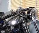 Cafe Racer Ed Norton Commando Headlights - Custom Motorcycles & Classic Motorcycles - BikeGlam Vintage Bikes, Vintage Motorcycles, Custom Motorcycles, Norton Cafe Racer, Cafe Racer Parts, Norton Motorcycle, Motorcycle Style, Cafe Racer For Sale, Norton Commando