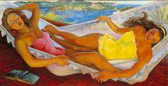 Diego Rivera La Hamaca The Hammock