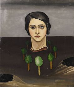 View SANS TITRE By Victor Brauner; oil on paper laid down on canvas; x cm; 25 x 21 in; Access more artwork lots and estimated & realized auction prices on MutualArt. Victor Brauner, Dorothea Tanning, Francis Picabia, Henri Rousseau, Max Ernst, Rene Magritte, Face Art, Art Faces, Joan Miro