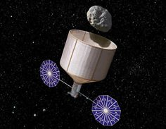 Asteroid towing: NASA plans to bring a space rock to Earth for study.