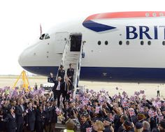 British Airways takes delivery of its first of 12 Airbus A380s... more photos at http://www.theaviationwriter.com/