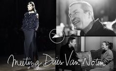 Pardon My French / Dries Van Noten - Here is the Dries Van Noten interview! I interviewed him the day after his Paris show and talking with him made me fall even more for his world, if it was possible...Click on the CC on the YouTube player for French subtitles.