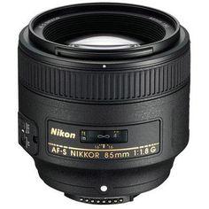 Nikon 85mm f/1.8G AF-S FX Nikkor Lens - U.S.A. Warranty