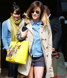 Caroline Flack almost missed first X Factor auditions after falling sick and rushing to hospital Miss X, Caroline Flack, Tv Presenters, Hermes Birkin, Envy, My Style, Hair, Fashion, Moda