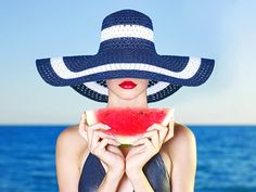 Find Young Stylish Lady Hat Sea Watermelon stock images in HD and millions of other royalty-free stock photos, illustrations and vectors in the Shutterstock collection. Watermelon Images, Eating Watermelon, Perfect Bride, Fairytale Weddings, Skin Care Treatments, Profile Photo, Wedding Beauty, Hats For Women, Young Women