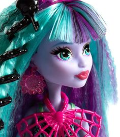 Monster High Electrified Monstrous Hair Ghouls Twyla Doll in Dolls. Monster High, Barbie, Princess Zelda, Dolls, Anime, Hair, Fictional Characters, Products, Nice Asses