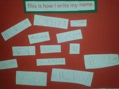 Name writing