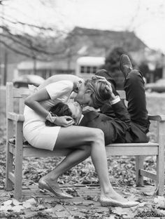Cute Couples Cuddling Love | couple kissing black and white photo
