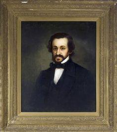 Portrait of David Hays Solis by Solomon Nunes Carvalho. National Museum of American Jewish History, 1983.34.1