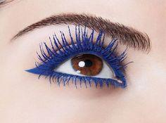 c2ae0b66c3e 29 Best Blue Mascara images in 2013 | Blue mascara, Make up, Colored ...