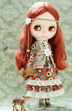Beautiful - I would Love a Blythe doll one day!