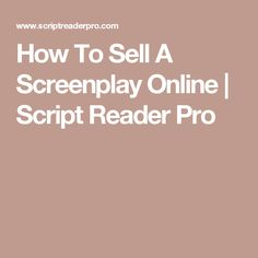 selling your screenplay television writer craig van sickle talks