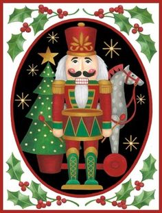 Nutcracker in Oval by Stephanie Stouffer | Ruth Levison Design