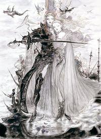 Resultado de imagem para final fantasy iv characters art