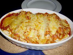 Enchiladas mit Hähnchen und Mais 1