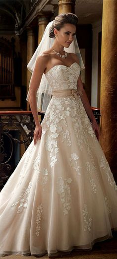 175e96d1e810b David Tutera for Mon Cheri - 213247 Hillary Bridal summer 2014 wedding  dresses