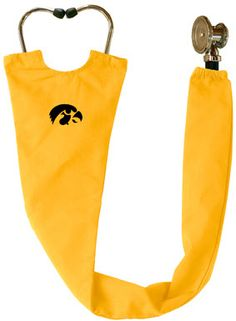 Hawkeye Scrubs - Iowa Hawkeye Gold Stethoscope Cover