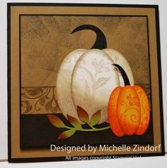 Primitive Pumpkins – Stampin' Up! Card |
