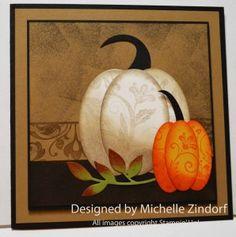 Primitive Pumpkins – Stampin' Up! Card |