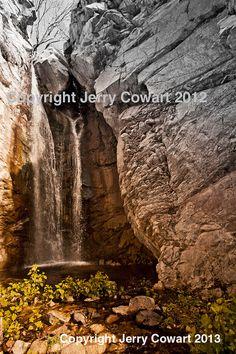 Waterfalls Nature Photography Fine Art Home by PhotosbyJerryCowart, $26.50